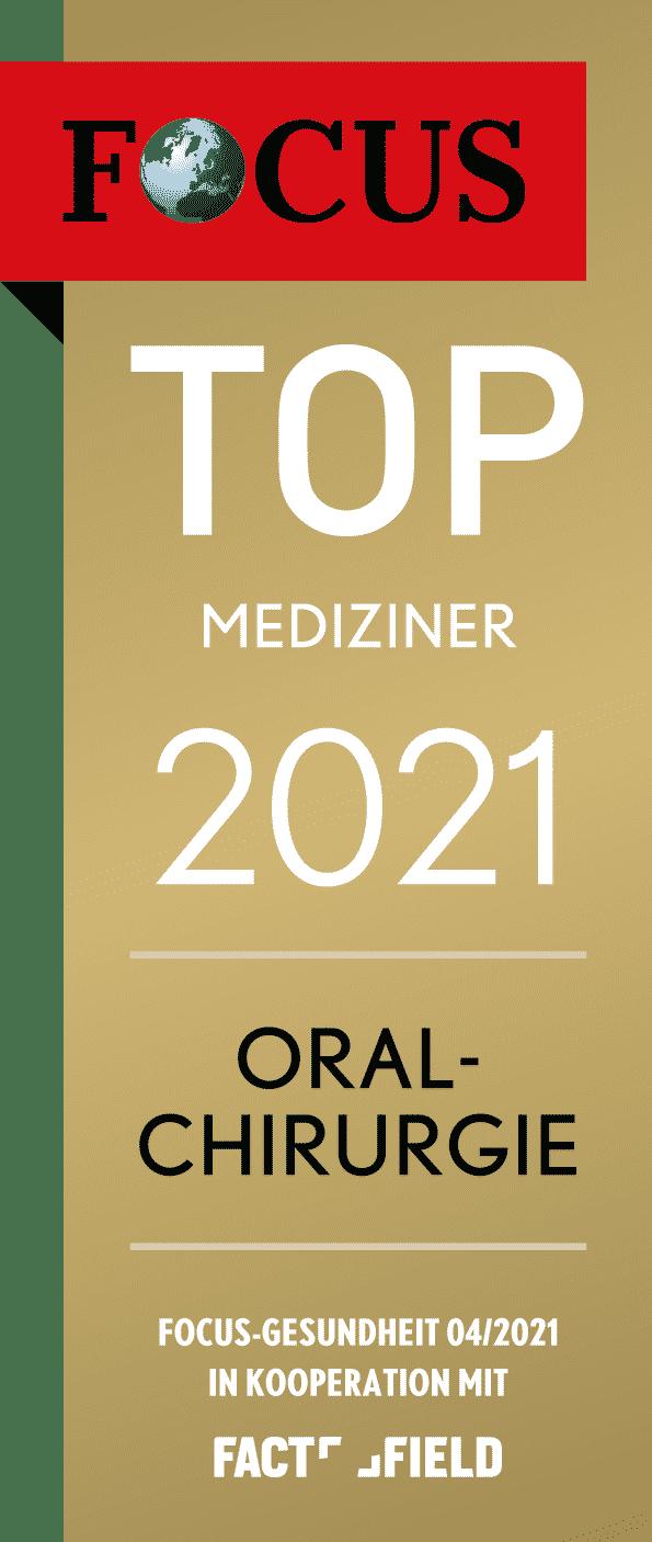 Focus Top Mediziner Oralchirurgie 2021